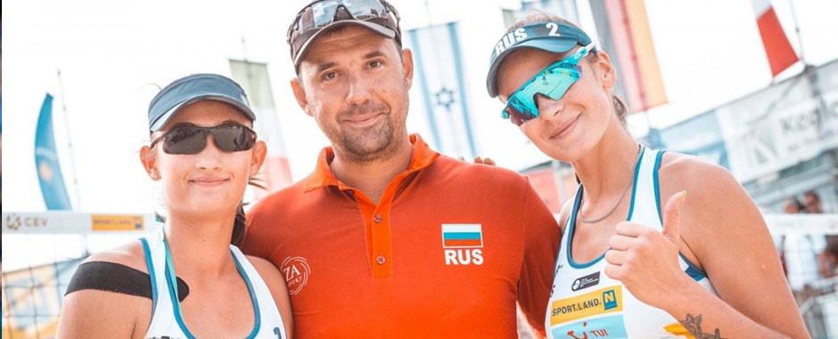 Победители первенства Европы по пляжному волейболу